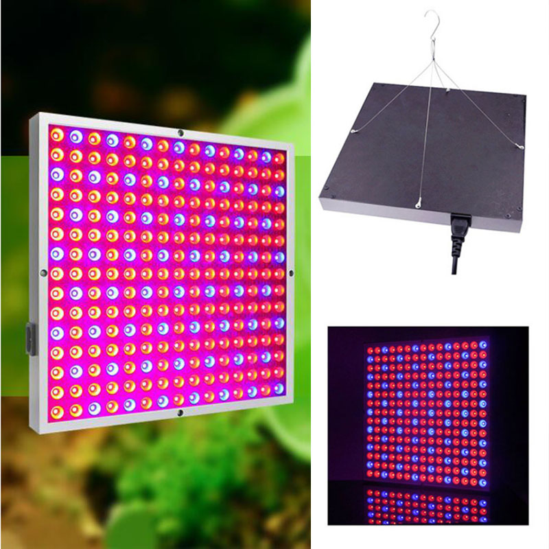 45W 225 LED Plant Grow Panel light Growing Lamps Lamp kit For Greenhouse Hydroponics Flower Vegetable indoor room grow tent box